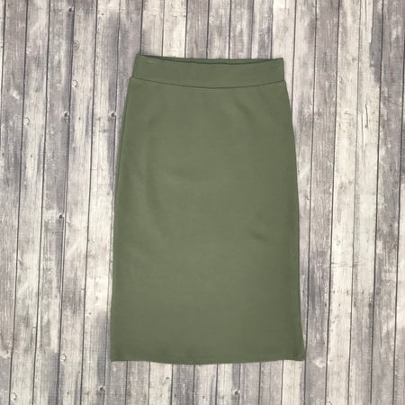Channing Pencil Skirt- Lt. Brown
