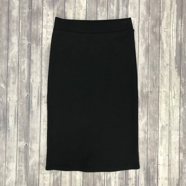 Channing Pencil Skirt-Black