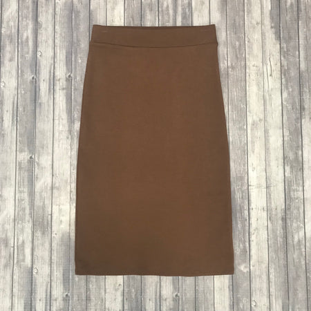 Carmen Leopard Skirt-Brown