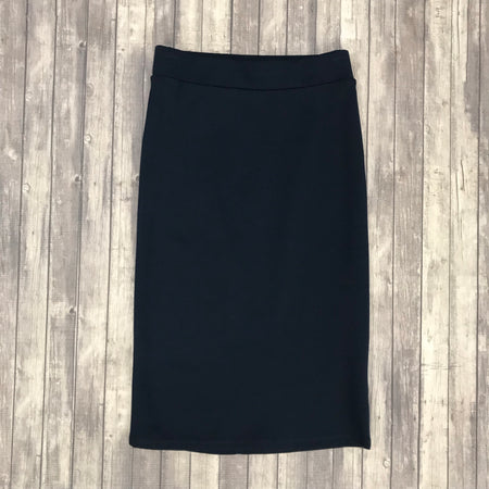 Channing Pencil Skirt- Blue Grey