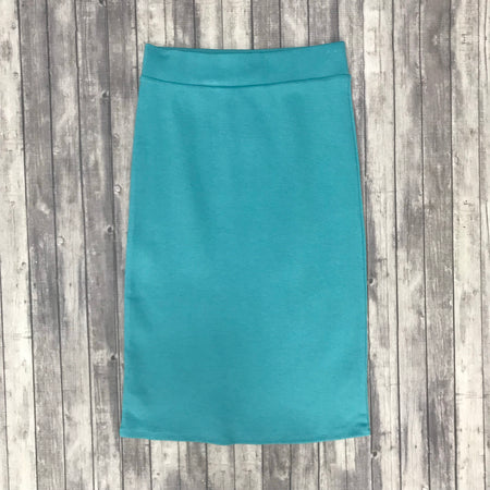 Channing Pencil Skirt-Titanium