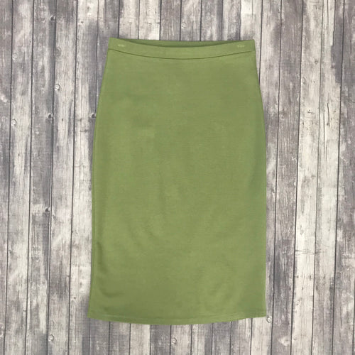 Channing Pencil Skirt- Sage