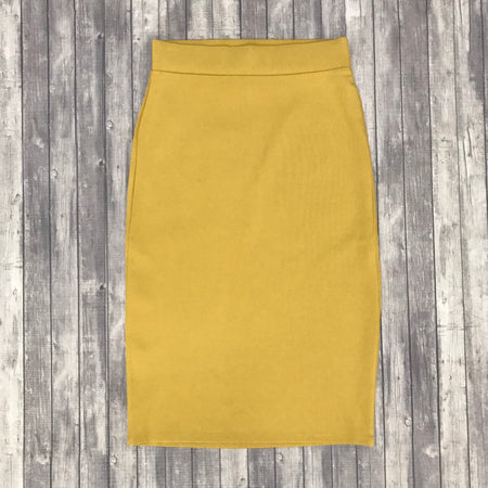 Channing Pencil Skirt- Ash Grey