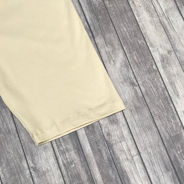 Cotton Slip Shorts- Taupe