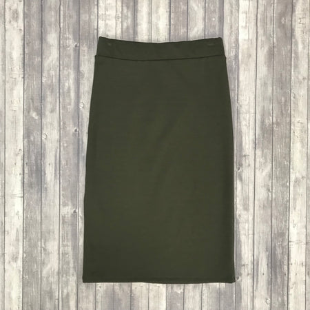 Channing Pencil Skirt-Dk. Burgundy