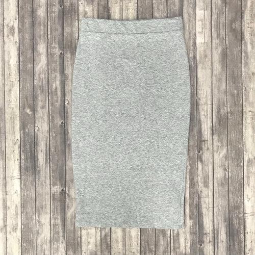 Wagner Skirt- H. Grey