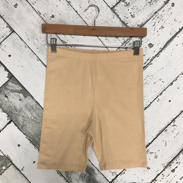 Cotton Slip Shorts-Sand