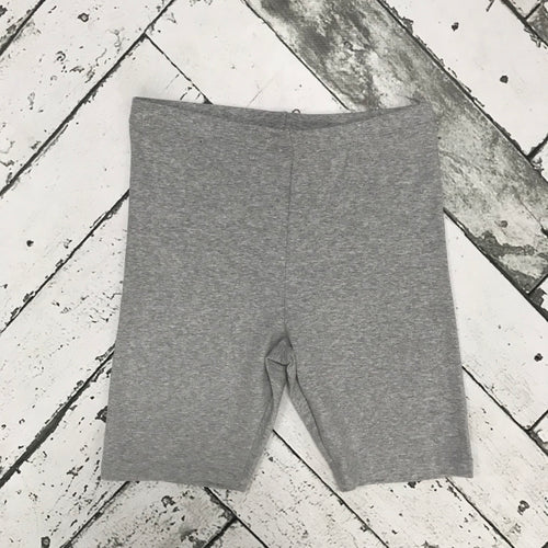 Cotton Slip Shorts-Grey