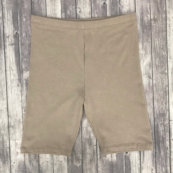 Cotton Slip Shorts- Ash Mocha
