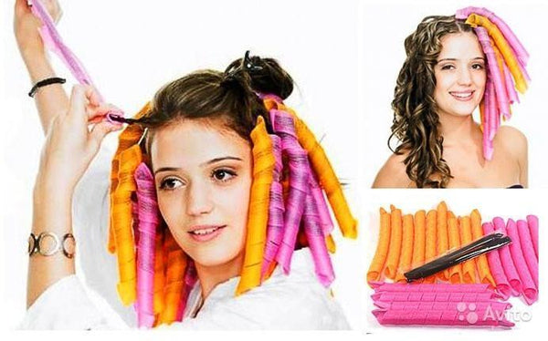 Super Long Spiral Curls Styling Kit - 50% OFF!