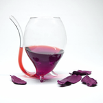 Wine Glass With  Drinking Tube -50% OFF