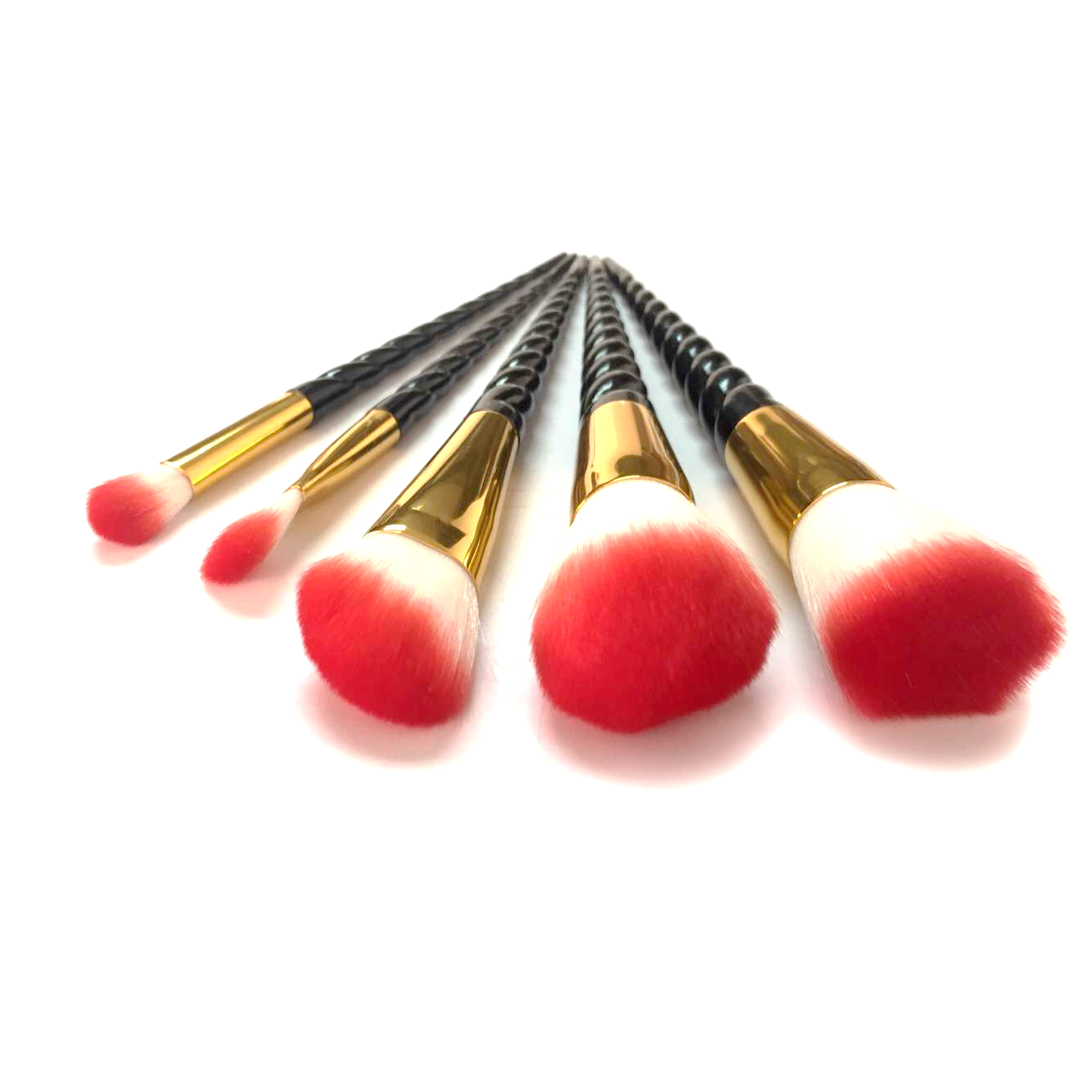 Black Unicorn Makeup Brushes - 5/10 Set - 70% OFF