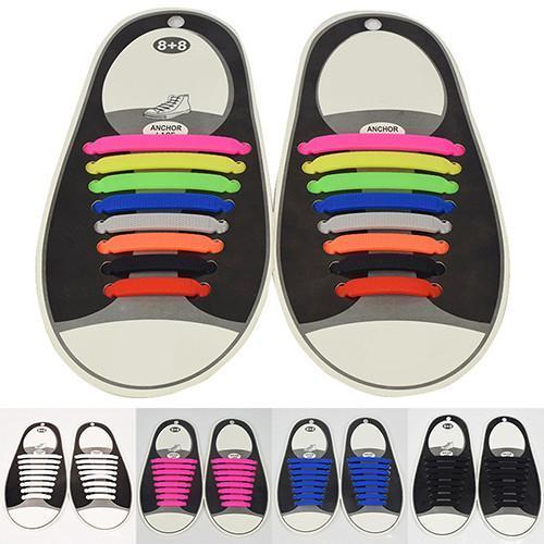 16Pcs No Tie Shoelaces - 50% OFF!
