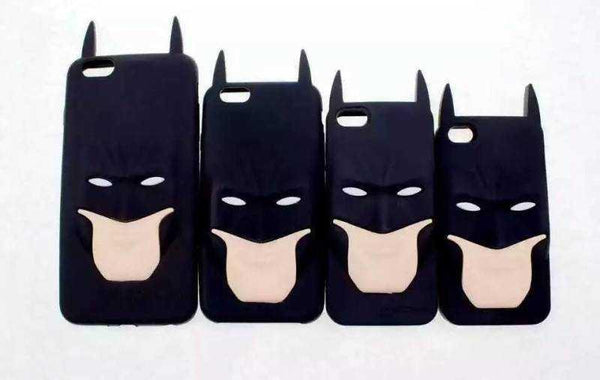 Batman Silicone Rubber Back Cover Case for iPhone