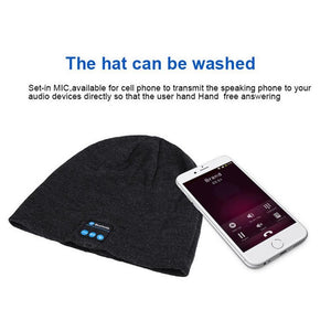 Bluetooth Wireless Hat - 60%OFF!