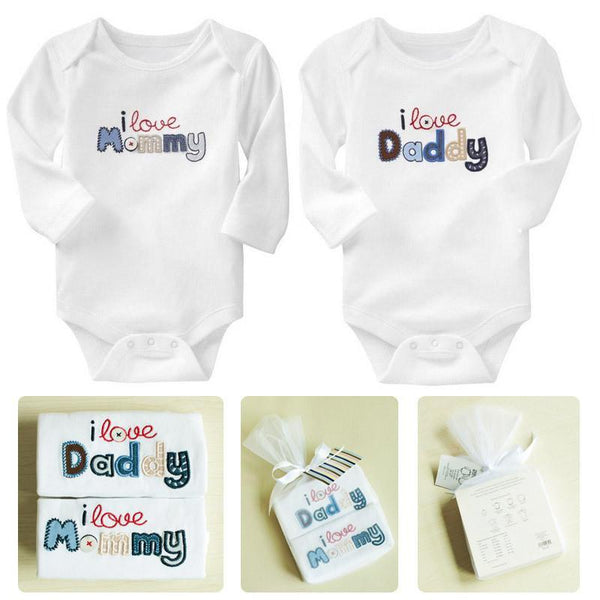 2 Pieces Newborn Baby Rompers