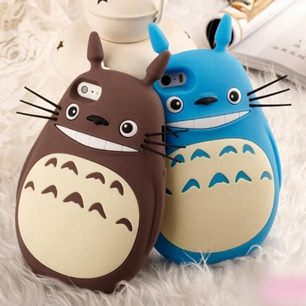 3D Totoro Silicone iPhone Case