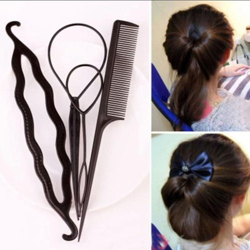4Pcs Hair Twist Styling Clip - 50% OFF