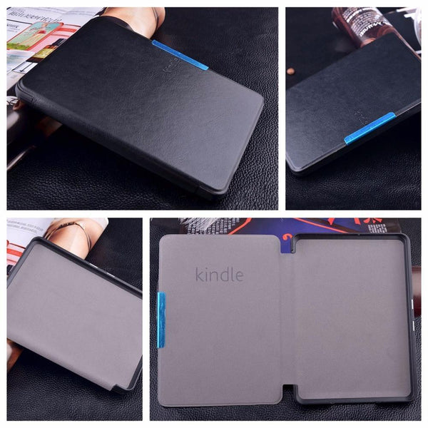 Magnetic Original Leather Case Cover for Amazon Kindle Paperwhite 2015