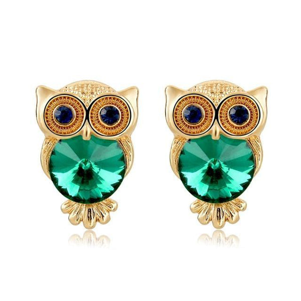 Owl Earrings - 60% OFF