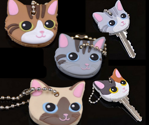 Cat Key Cover Pack