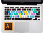 Illustrator Shortcuts Keyboard Cover for Macbook/Apple Keyboards (60% OFF)