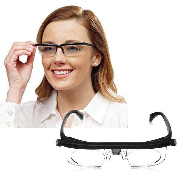 PERFECT VISION: ADJUSTABLE DIAL EYEGLASSES - 50% OFF