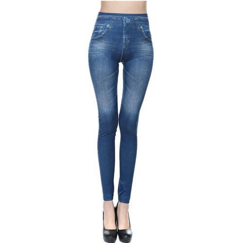 Plus Size Fashion Skinny Jeans Leggings - 60% OFF