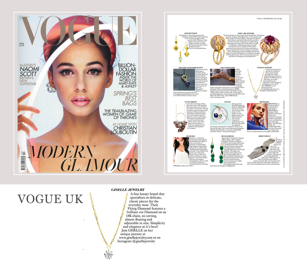 Press - Giselle Jewelry