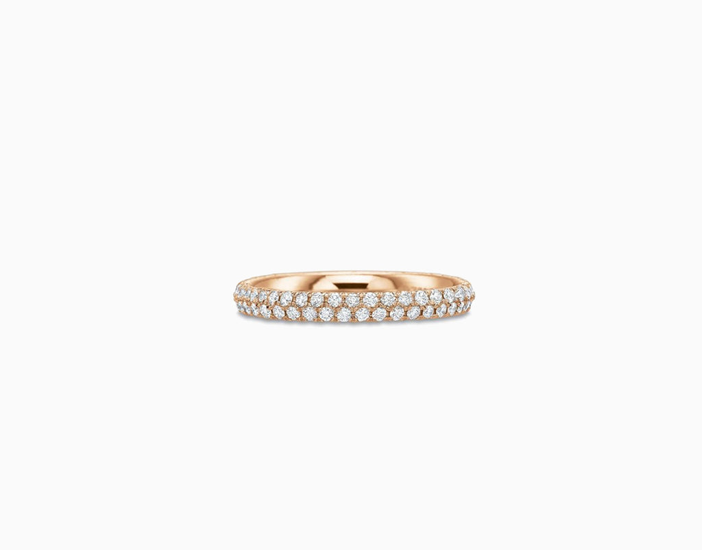 ANNA Diamond Eternity Ring 2Row