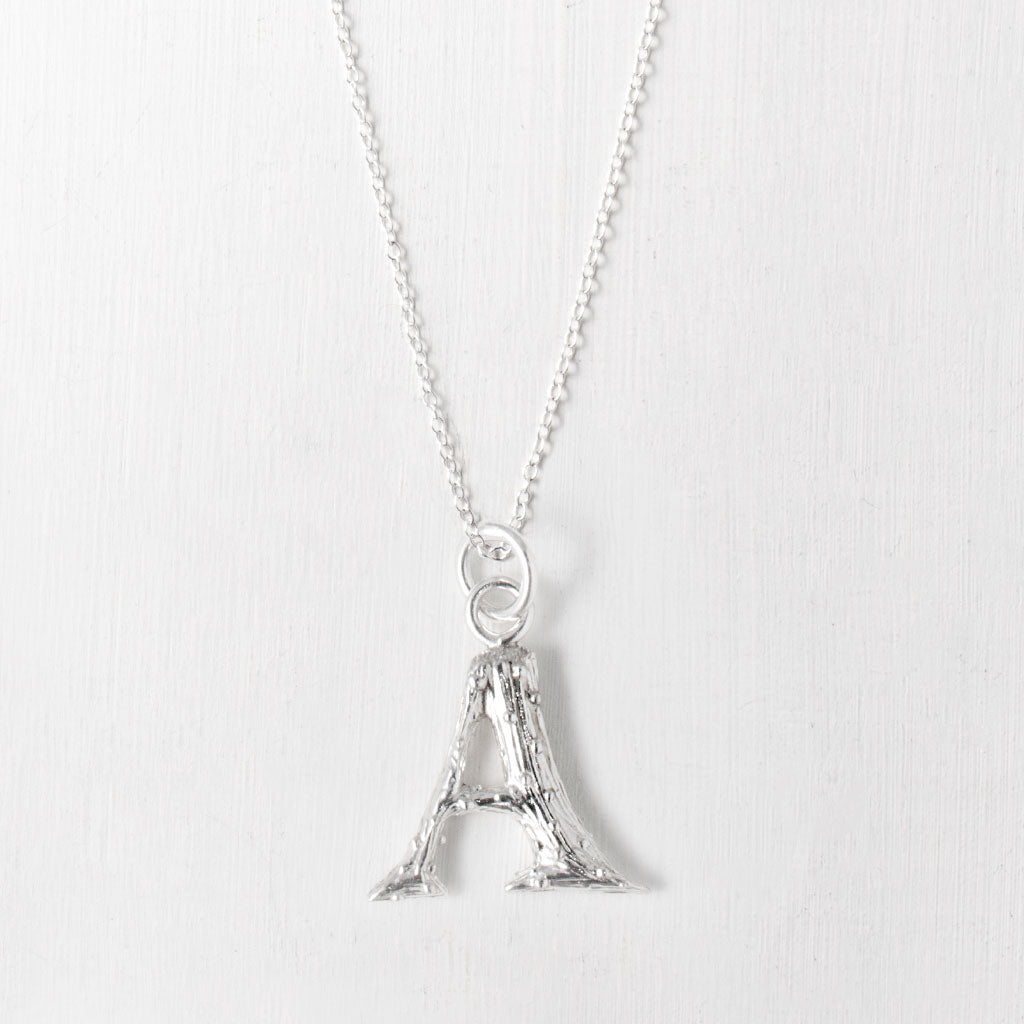 a-letter necklace