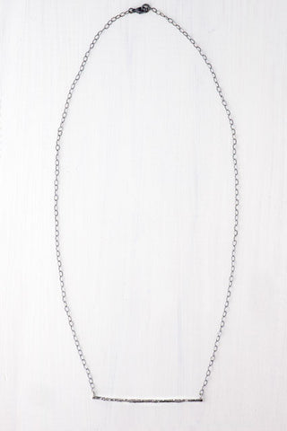 Silver Twig Bara Necklace