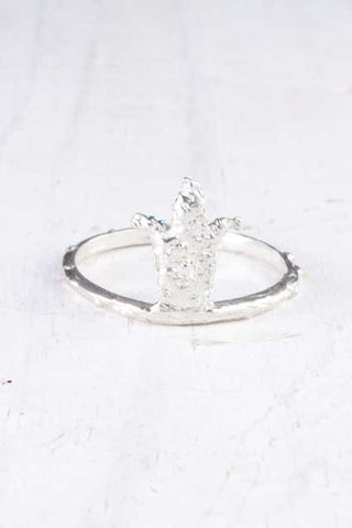 Tulip Crown Ring