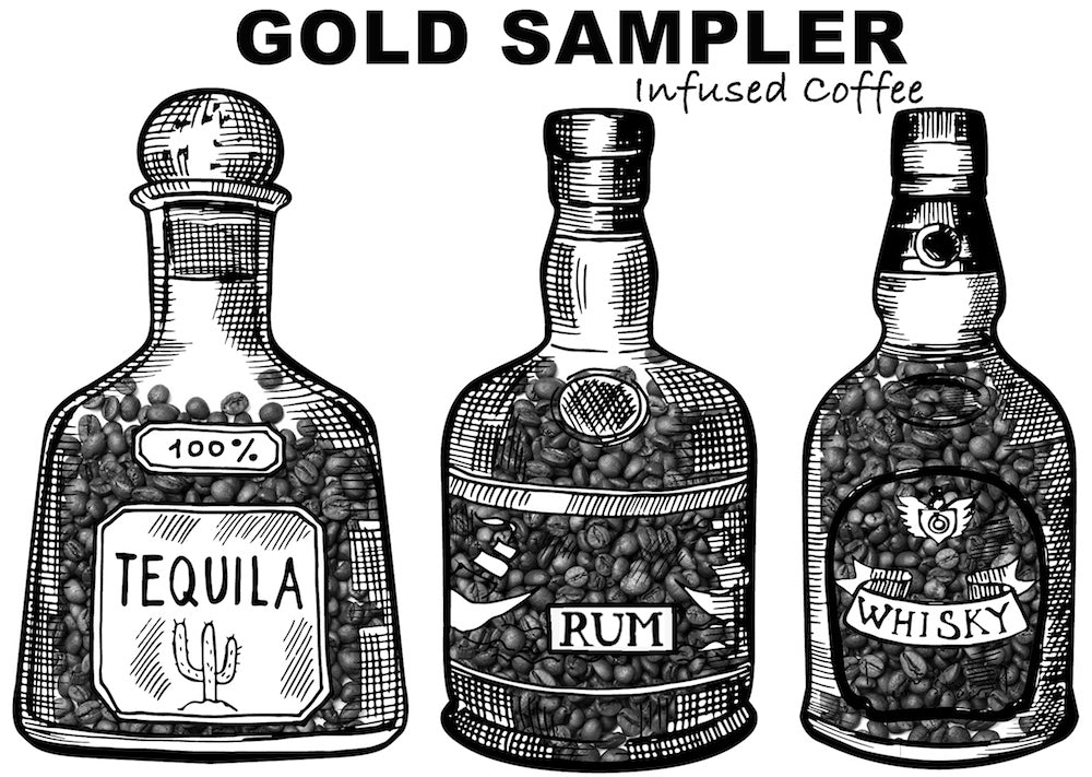 Liquor Infused Coffee Sampler - 787 Coffee