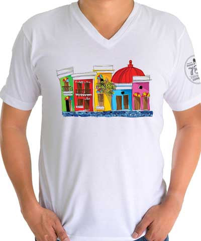 Old San Juan Unisex T-Shirt - 787 Coffee
