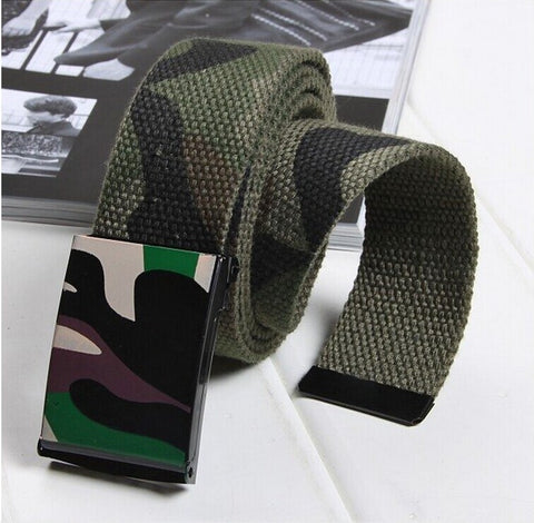Military Tactical Army Camo Belt