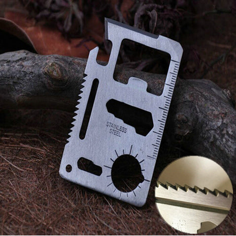 11 in 1 Card Survival Tool