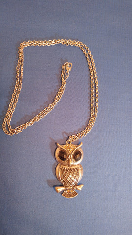 Necklace Owl Necklace