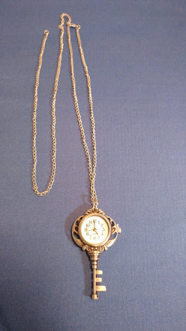 Necklace Key Watch Necklace