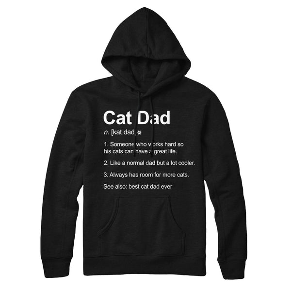 Cat Dad Definition - Hoodie