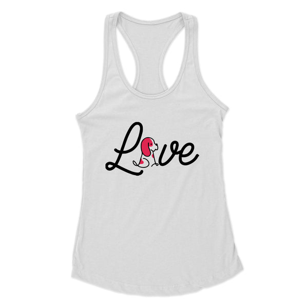 A Dog's Love - Racerback Tank