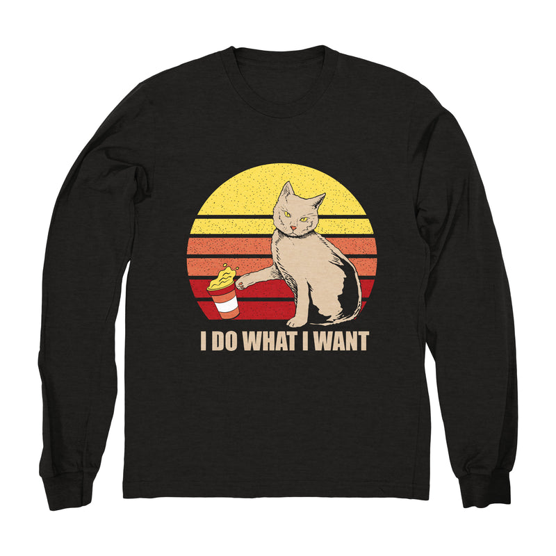 I Do What I Want Two - Long Sleeve