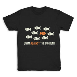 Swim Against The Current - Tee