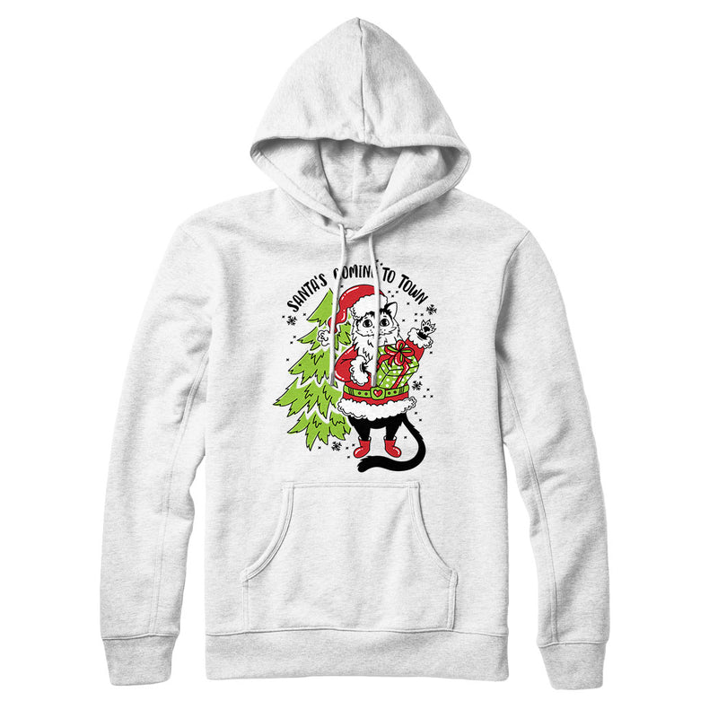 Santa's Coming to Town (Tree) - Hoodie