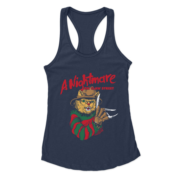 A Nightmare on Claw Street - Racerback Tank