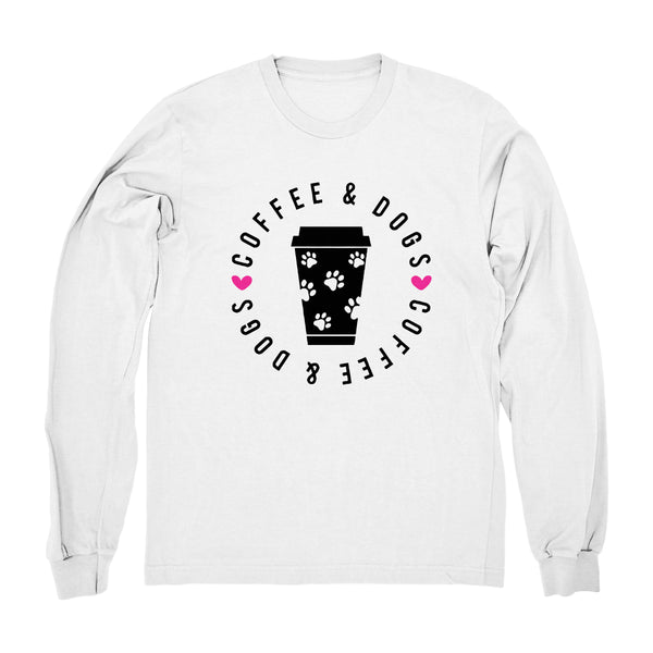 Coffee and Dogs - Long Sleeve