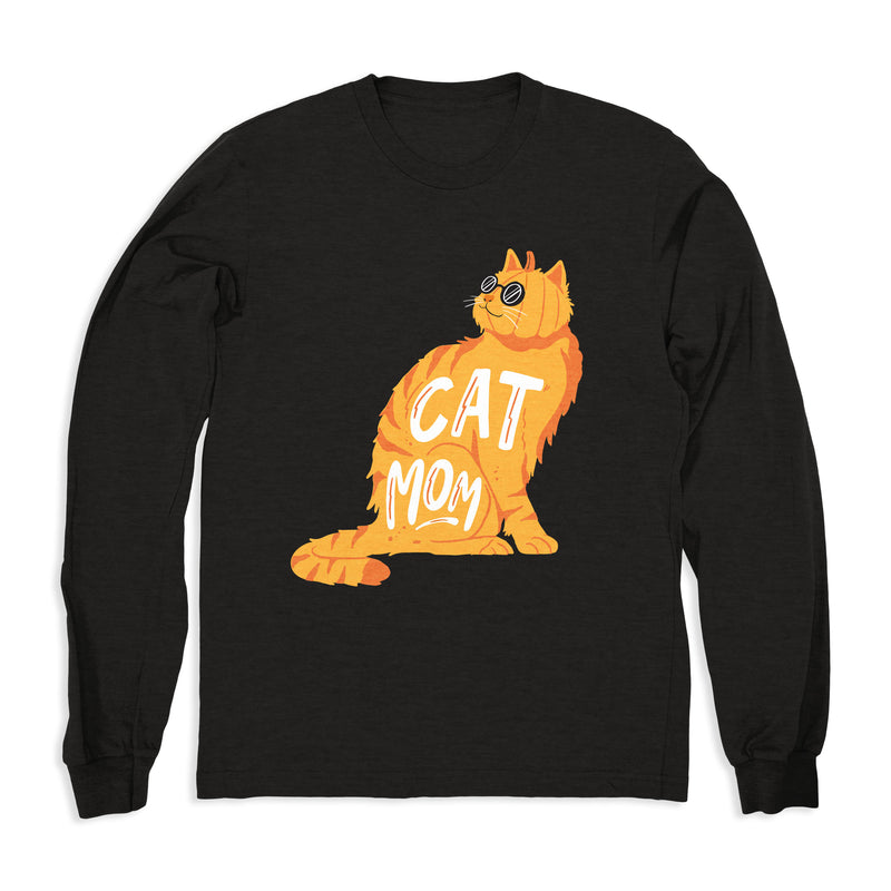 Cat Mom Pumpkin Edition - Long Sleeve