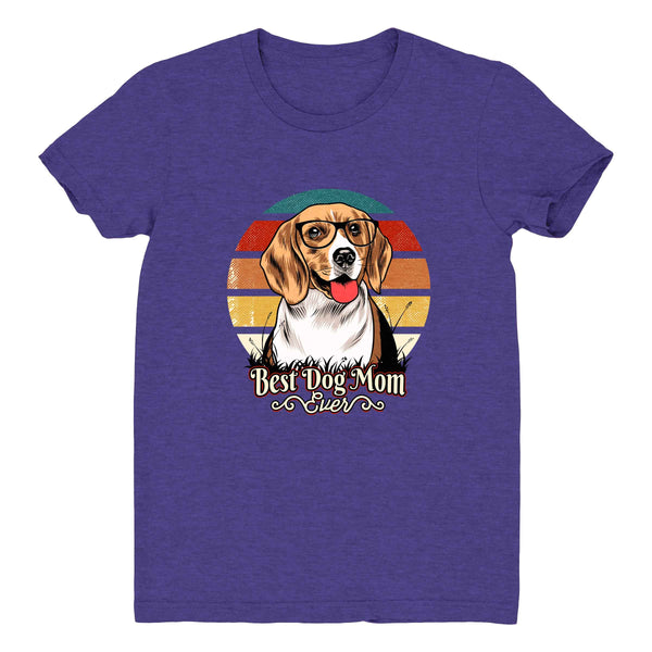 Best Dog Mom Ever Beagle - Women's Tee