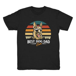 Best Dog Dad Ever (German Shepard) - Tee