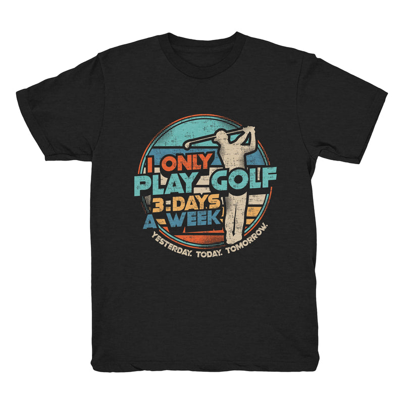 Golfing Three Days - Tee